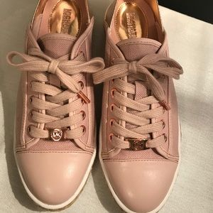 Michael Kors Rose Gold Sneakers/Espadrilles